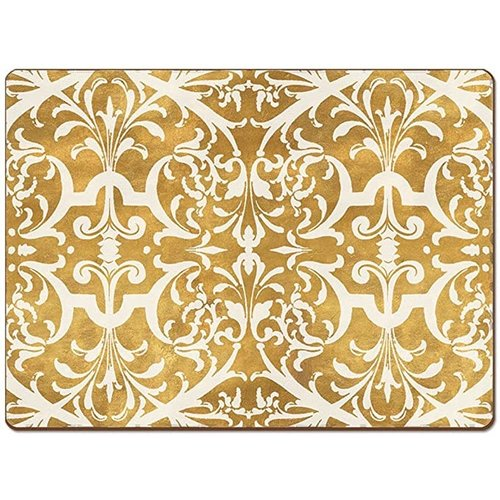 Gilded Gold 4 pack Placemats