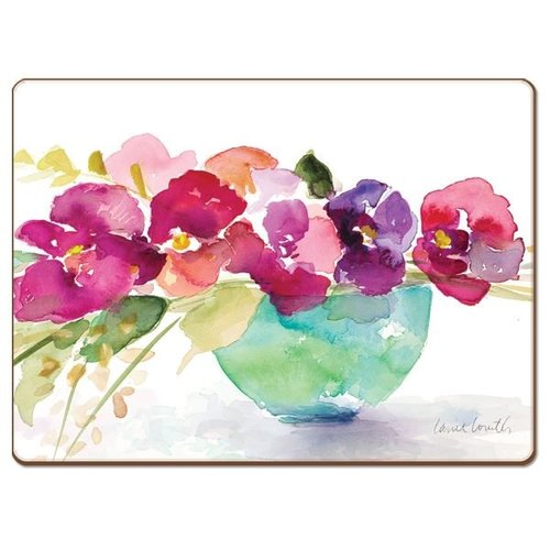 Bowl of Blooms 4 pack placemats