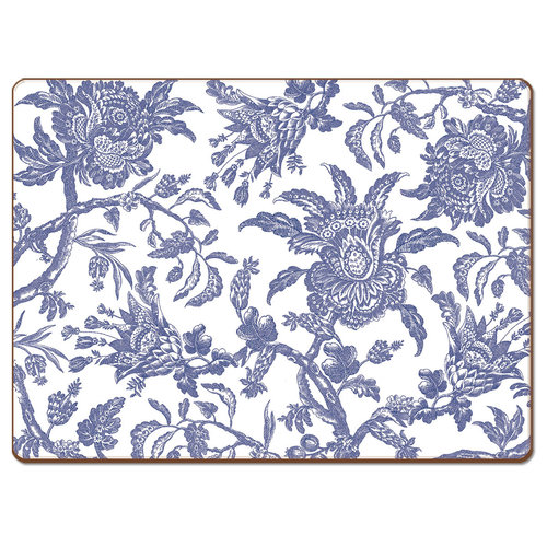 Arcadia Blue 4 pack placemats