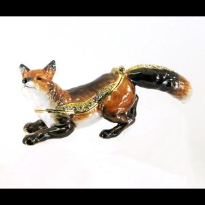 Kingspoint Designs Hunter the Fox Trinket Box