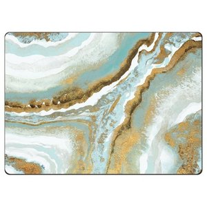 Teal Agate 4 Pack Placemats