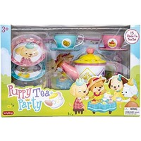 Puppy Tea Party Tin Tea Set