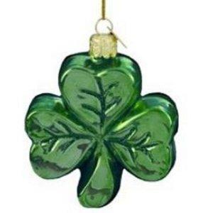 Kurt Adler Noble Gems by Kurt S. Adler Shamrock Ornament