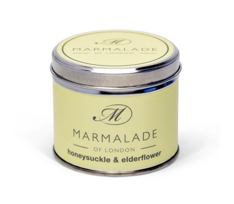 Honeysuckle & Elderflower Tin Candle