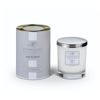 Sage & Elemi Glass Candle