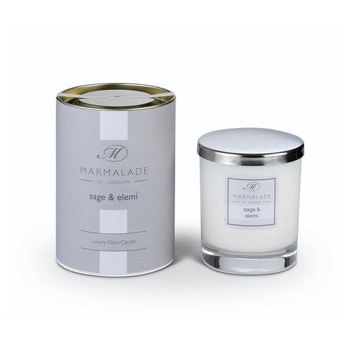 Marmalade of London Sage & Elemi Glass Candle