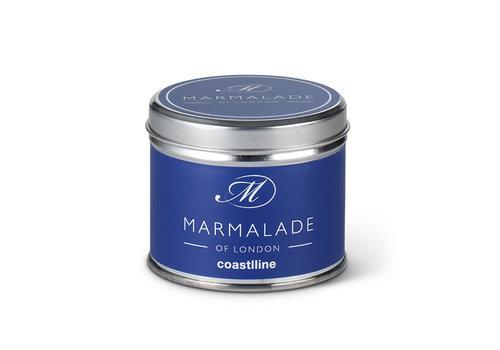 Marmalade of London Coastline Tin Candle