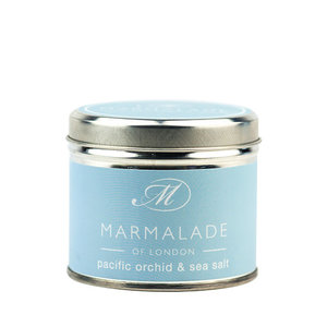 Marmalade of London Pacific Orchid & Sea Salt Tin Candle