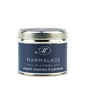 Marmalade of London English Rosemary & Patchouli Tin Candle