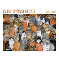 In the Company of Cats Boxed Notecards