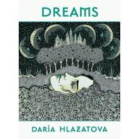 Daria Hlazatova Dreams Notecards