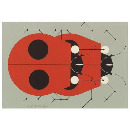 Pomegranate Charley Harper Ladybugs Boxed Notecards