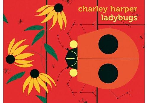 Pomegranate Charley Harper Ladybugs Notecards
