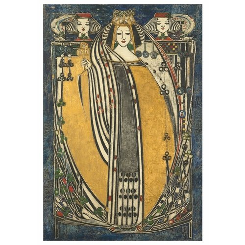 Pomegranate Margaret Macdonald Mackintosh The Queens Boxed Notecards