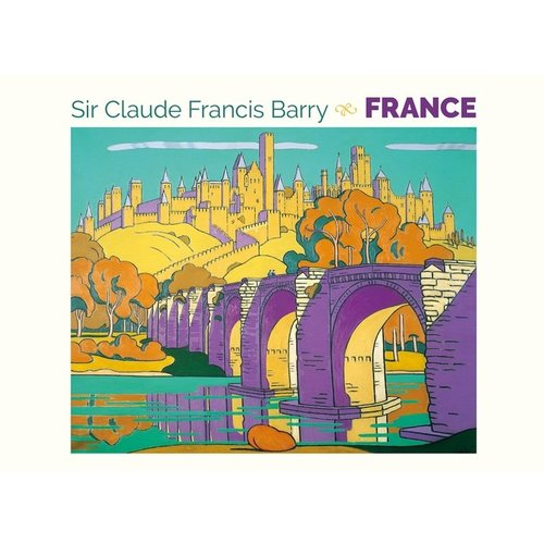 Pomegranate Sir Claude Francis Barry France Notecards