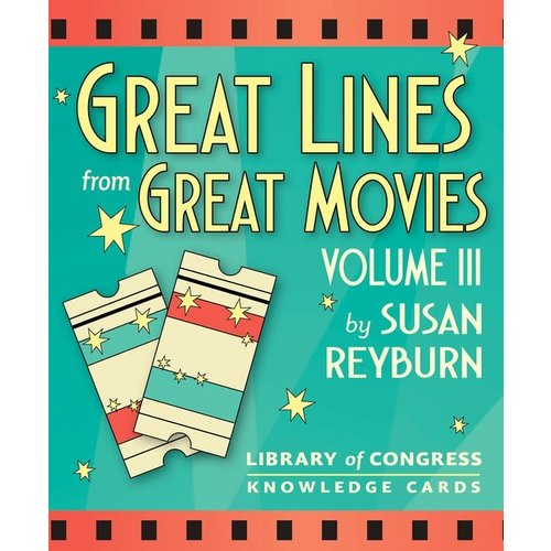 Great Lines from Great Movies Vol III Knowledge Cards