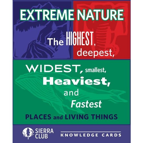 Pomegranate Extrreme Nature Knowledge Cards
