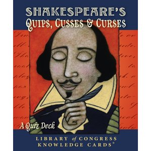 Pomegranate Shakespeare's Quips Knowledge Cards