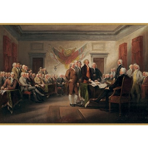 Pomegranate John Trumbull The Declaration of Independence 1000 Piece Puzzle