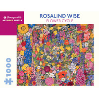 Rosalind Wise Flower Cycle 1000 Piece Puzzle
