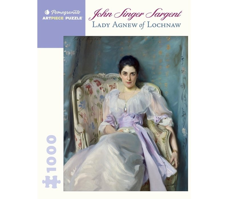 John Singer Sargent Lady Agnew of Lochnaw 1000 Piece Puzzle