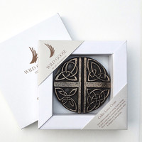 Wild Goose Celtic Love Cross Boxed