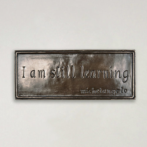 Wild Goose Wild Goose I Am Still Learning Plaque