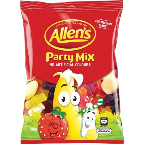 Allen's Party Mix Lollies Bag Variety (190g)