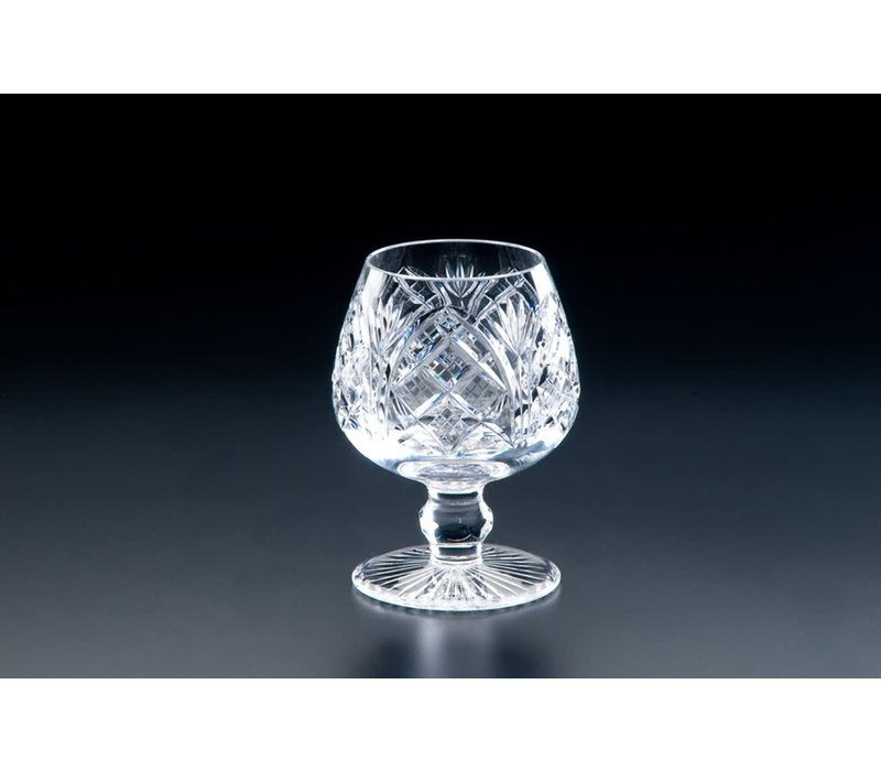 Heritage Crystal Cathedral Large Brandy Glass