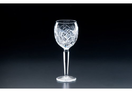Heritage Crystal Cathedral Claret Glass