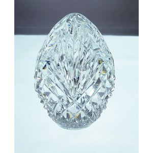 Heritage Crystal Flame Egg Paper Weight