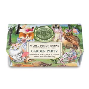 Michel Design Works Garden Party Large Bath Soap Bar