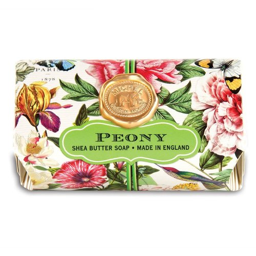Michel Design Works Michel Peony Large Bath Soap Bar