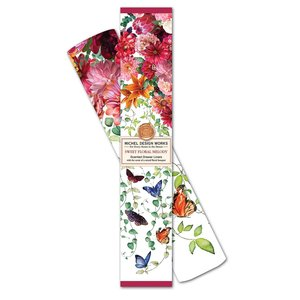 Michel Design Works Sweet Floral Melody Scented Drawer Liner