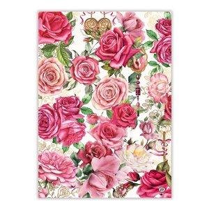 Michel Design Works Royal Rose Kitchen Towel