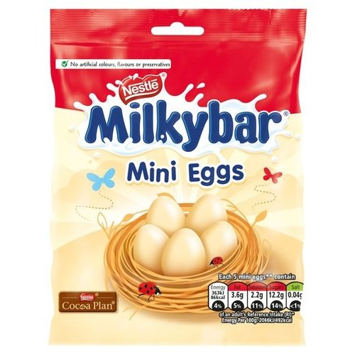 Nestle Milkybar Mini Egg Bag