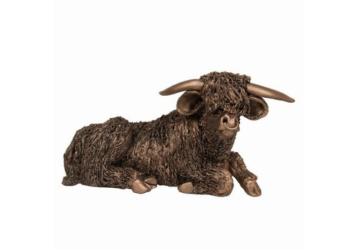 Frith Sculpture Highland Bull at Rest