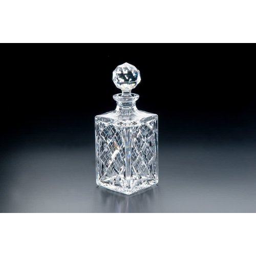 Heritage Crystal Heritage Crystal Cathedral Square Decanter
