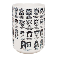 It's Hard to Get a Handle on English Royalty Mug