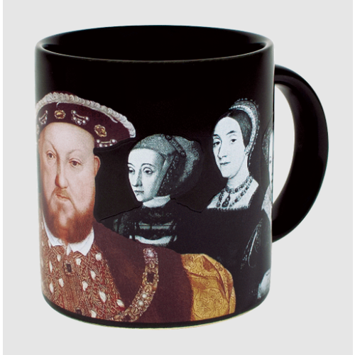 Henry VIII and His Disappearing Wives Mug