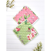 Spring Bouquet Patchwork Potholder