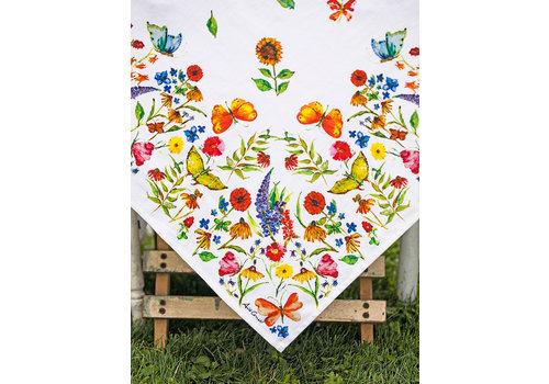 April Cornell Sister's Garden Tablecloth (54x54)