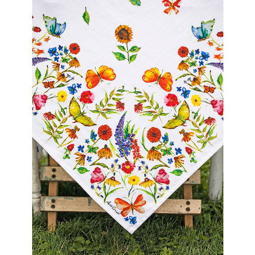 April Cornell Sister's Garden Tablecloth (54x54)