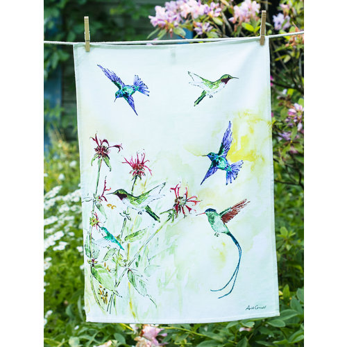 April Cornell April Cornell Hummingbird Tea Towel