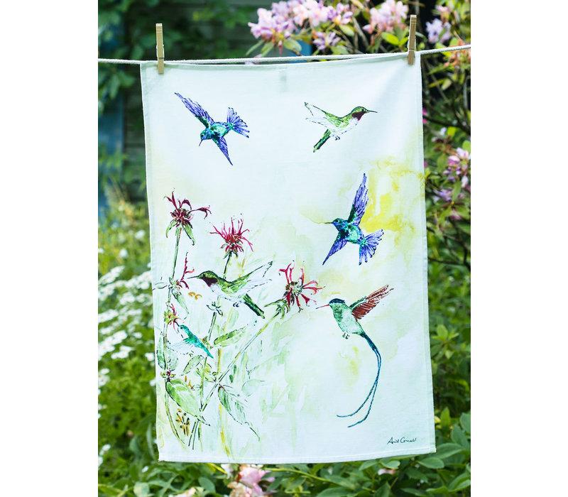 April Cornell Hummingbird Tea Towel