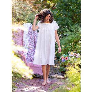 April Cornell White Cherish Nighty NTA5512M