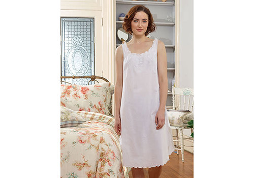 April Cornell Morning Nighty (White)