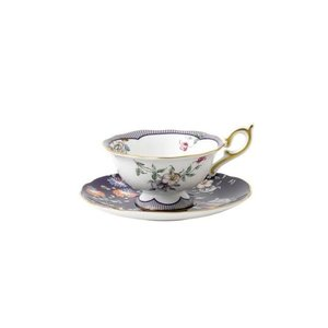 Wedgwood Wonderlust Midnight Crane Tea Cup and Saucer