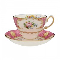 Lady Carlyle Teacup & Saucer Set