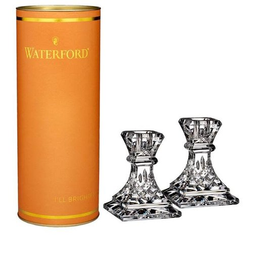 Waterford Giftology Lismore Candlestick Pair